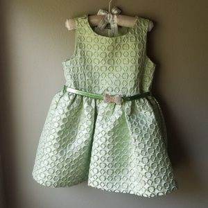 3T Lime Green Party Dress